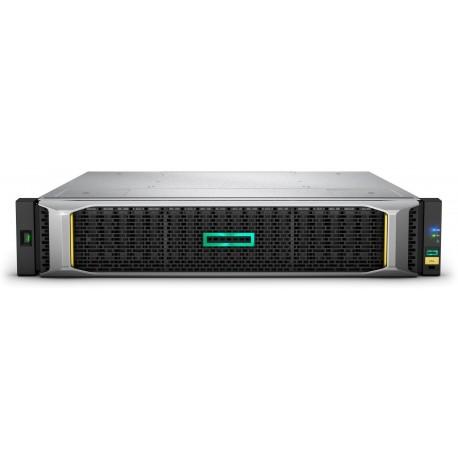 Hewlett Packard Enterprise MSA 1050 levyjärjestelmä Teline ( 2U ) Musta