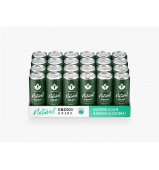Natural Energy Drink - Bergamotti 24 x 330ml pullo