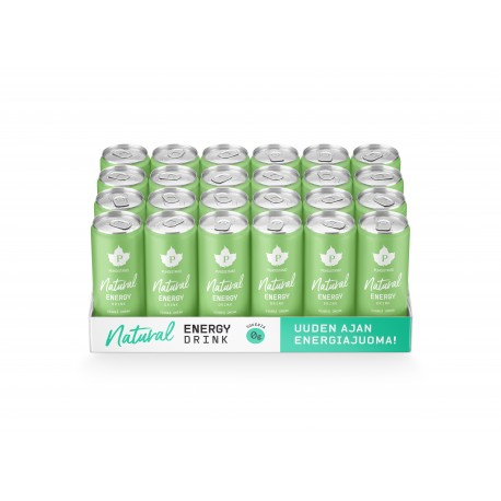 Natural Energy Drink - Omena 24 x 330ml pullo