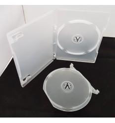 DVD Tupla 1+1 F-type transparent /lisäpala/keskilevy