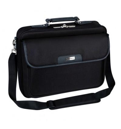 """Targus CN01 laukku kannettavalle tietokoneelle 40,6 cm (16"""") Lähettilaukku Musta"""