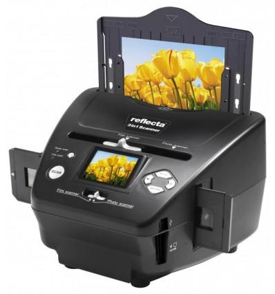 Reflecta 64220 Film/slide scanner 1800 x 1800DPI Musta skanneri