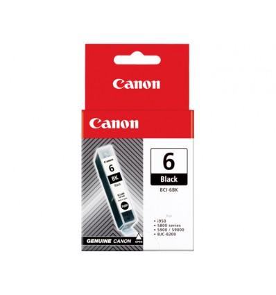 Canon BCI-6 BK Alkuperäinen Musta 1 kpl