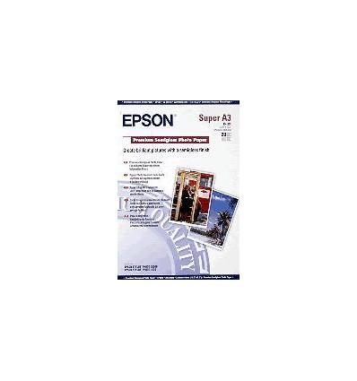 Epson Premium Semigloss Photo Paper, DIN A3+, 250 g/m², 20 arkkia