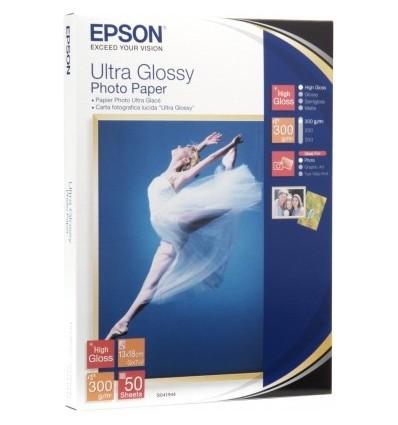 Epson Ultra Glossy Photo Paper - 13x18cm 50 Arkkia