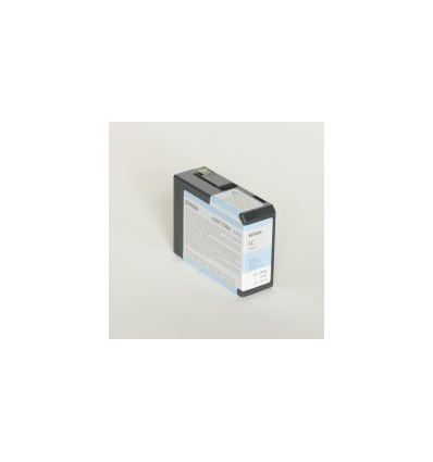 Epson Yksittäispakkaus, vaalea syaani T580500