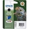 Epson Owl Yksittäispakkaus, musta T0791 Claria Photographic -muste