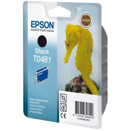Epson Seahorse Yksittäispakkaus, musta T0481