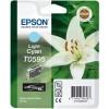 Epson Lily Yksittäispakkaus, vaalea syaani T0595 UltraChrome K3