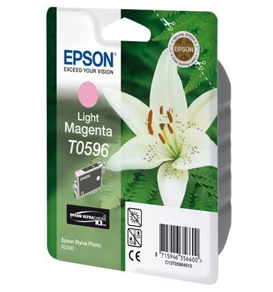 Epson Lily Yksittäispakkaus, vaalea magenta T0596 UltraChrome K3