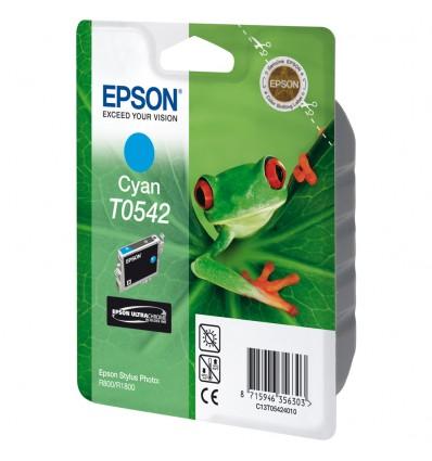 Epson Yksittäispakkaus, syaani T0542 UltraChrome Hi-Gloss