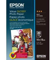Epson Value Glossy Photo Paper - 10x15cm 20 Arkkia