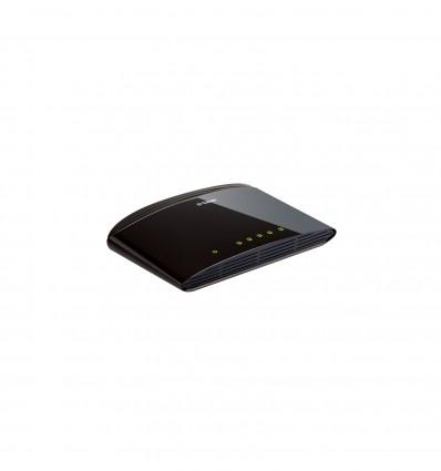 D-Link DES-1005D Hallitsematon Fast Ethernet (10/100) Musta