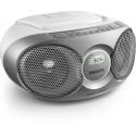 Philips AZ215S/12 kannettava stereojärjestelmä 3 W Hopea
