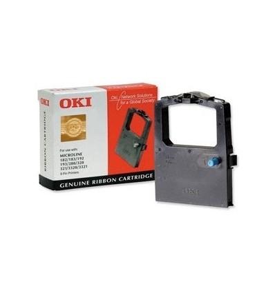 OKI 09002303 tulostinnauha Musta
