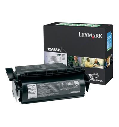 Lexmark 12A5845 värikasetti Alkuperäinen Musta 1 kpl