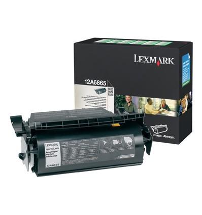 Lexmark 12A6865 värikasetti Alkuperäinen Musta 1 kpl
