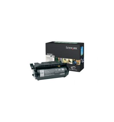 Lexmark 12A7465 värikasetti Alkuperäinen Musta 1 kpl