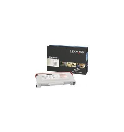 Lexmark 20K0503 värikasetti Alkuperäinen Musta 1 kpl