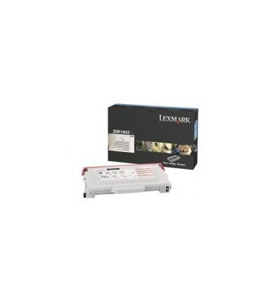 Lexmark 20K1403 värikasetti Alkuperäinen Musta 1 kpl