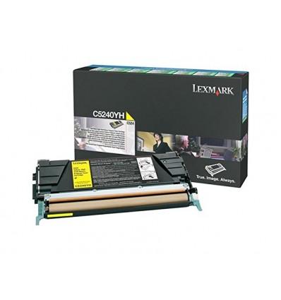 Lexmark C5240YH värikasetti Alkuperäinen Syaani, Keltainen