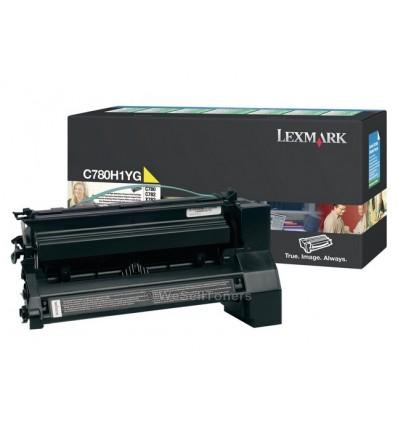 Lexmark C780H1YG värikasetti Alkuperäinen Keltainen 1 kpl