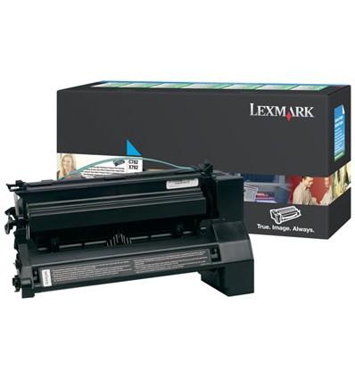 Lexmark C782X1CG värikasetti Alkuperäinen Syaani 1 kpl