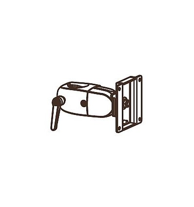 "Ergotron DS Series DS100 Clamping Single Pivot 76,2 cm (30"") Musta"