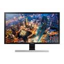 "Samsung LU28E590DS LED display 71,1 cm (28"") 3840 x 2160 pikseliä 4K Ultra HD Musta, Hopea"