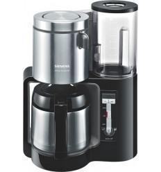 Siemens TC86503 kahvinkeitin Vapaasti seisova Valutus-kahvinkeitin Antrasiitti, Hopea 1 L 12 kuppia