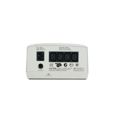 APC Line-R jännitteensäädin 230 V 4 AC-pistorasia(a) Beige