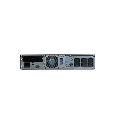 APC Smart-UPS On-Line UPS-virtalähde Taajuuden kaksoismuunnos (verkossa) 1000 VA 700 W 6 AC-pistoras