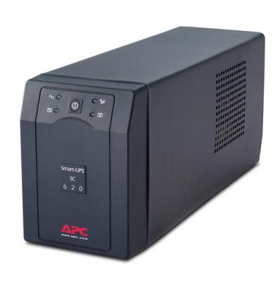 APC Smart-UPS UPS-virtalähde Linjainteraktiivinen 620 VA 390 W 4 AC-pistorasia(a)