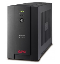 APC Back-UPS UPS-virtalähde Linjainteraktiivinen 1400 VA 700 W 6 AC-pistorasia(a)