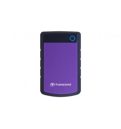 Transcend StoreJet 25H3 ulkoinen kovalevy 3000 GB Musta, Sininen, Violetti