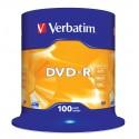 Verbatim DVD-R Matt Silver 4,7 GB 100 kpl