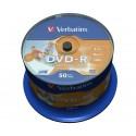 Verbatim 43533 tyhjä DVD-levy 4,7 GB DVD-R 50 kpl