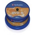Verbatim DVD-R Matt Silver 4,7 GB 50 kpl
