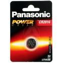 Panasonic CR2016 Litium 3V kertakäyttöparisto