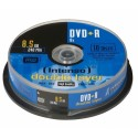 Intenso DVD+R 8.5GB, DL, 8x 8,5 GB 10 kpl