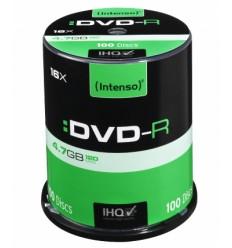 Intenso DVD-R 4.7GB 100kpl