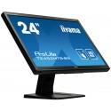 "iiyama ProLite T2452MTS-B5 kosketusnäyttö 59,9 cm (23.6"") 1920 x 1080 pikseliä Musta Dual-touch"
