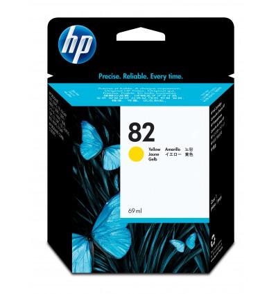 HP 82 Alkuperäinen Keltainen