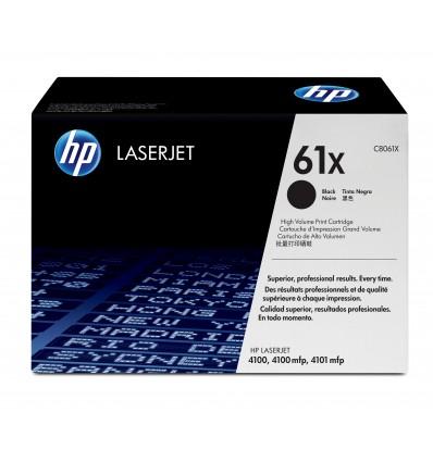 HP 61X Alkuperäinen Musta 1 kpl