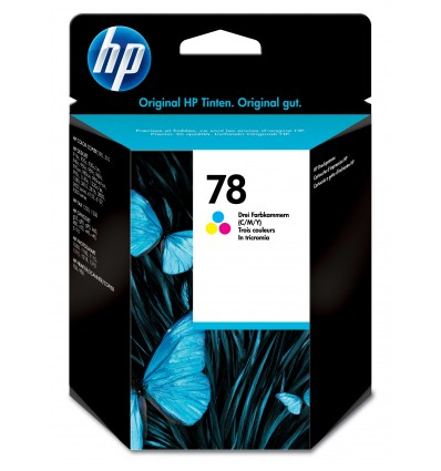 HP 78 Alkuperäinen Syaani, Magenta, Keltainen 1 kpl
