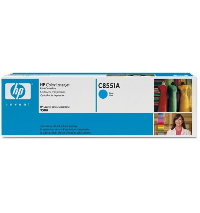 HP C8551A värikasetti Alkuperäinen Syaani 1 kpl