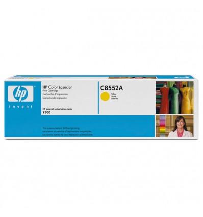 HP C8552A värikasetti Alkuperäinen Keltainen 1 kpl