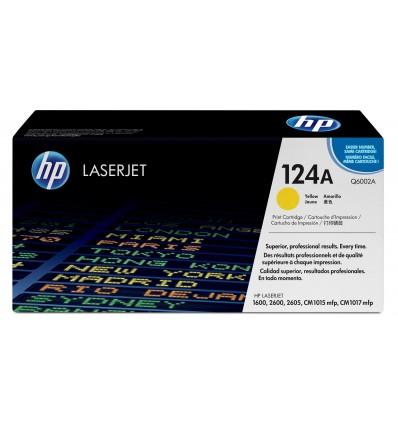 HP 124A Laser cartridge 2000sivua Keltainen