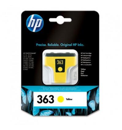 HP 363 Alkuperäinen Keltainen 1 kpl