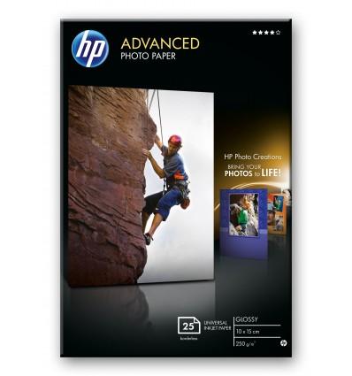 HP Advanced Glossy valokuvapaperi Valkoinen Kiilto